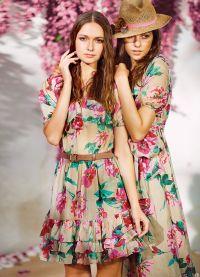 sukienka z kwiatami 2013 2