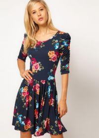sukienka z kwiatami 2013 3