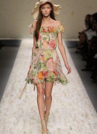 sukienka z kwiatem 2013 4
