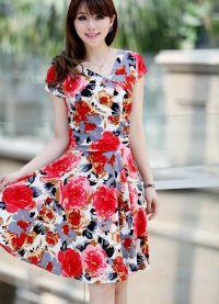 sukienka z kwiatami 2013 8