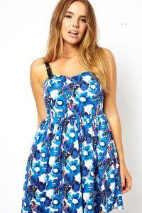 Sukienka kwiatowa 7