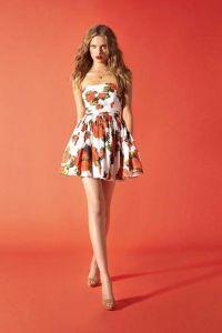 Sukienka w kwiaty 9