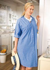sukienki dla otyłych kobiet5