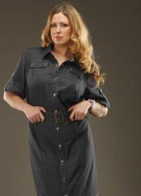 koszule sukienkowe dla otyłych kobiet9