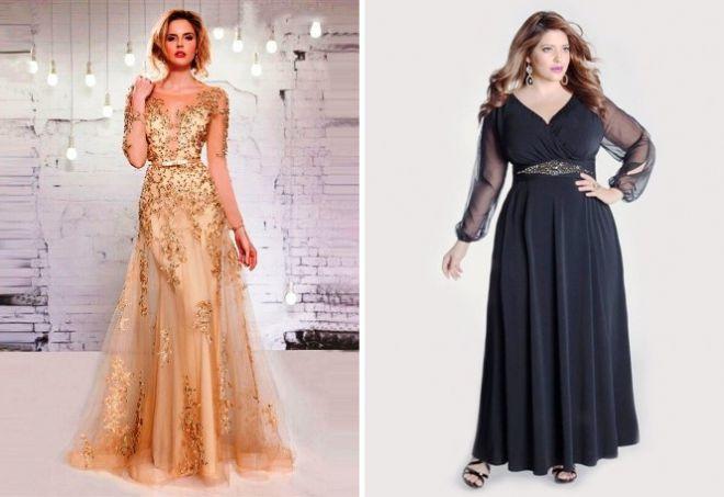 sukienka z długim rękawem30