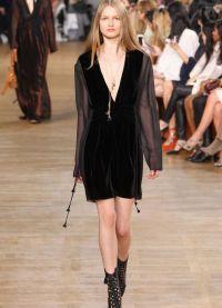 sukienka z długim rękawem na jesień 2015 4