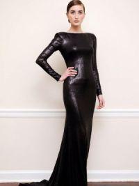 Sukienka z długim rękawem10