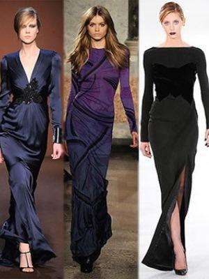 Šaty s dlouhými rukávy11