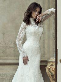 Sukienka z długim rękawem15