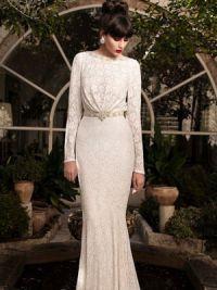 Sukienka z długimi rękawami18