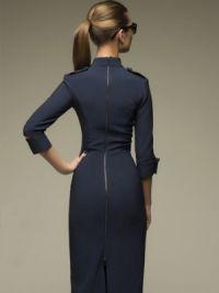 Sukienka z długim rękawem2
