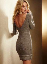 Sukienka z długim rękawem9