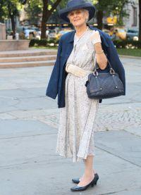 Sukienki dla starszych kobiet 6