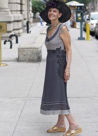 Sukienki dla starszych kobiet 9