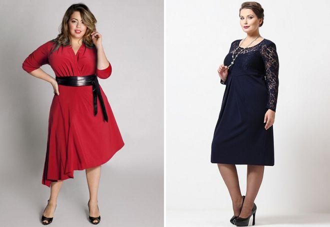 fantazyjne sukienki dla otyłych kobiet