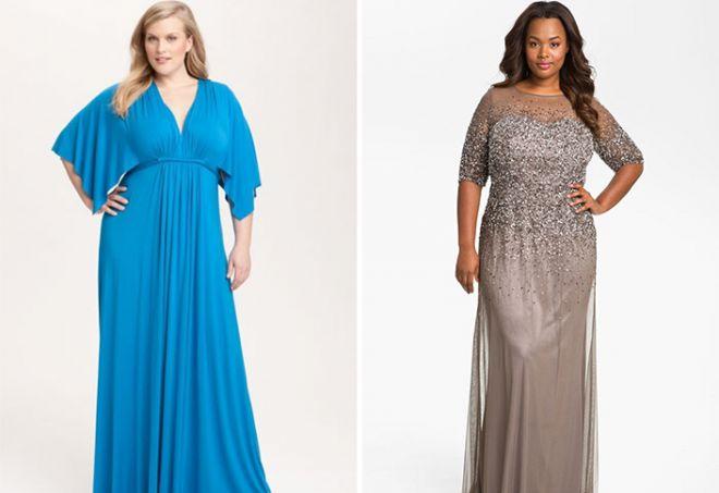suknie wieczorowe dla otyłych kobiet
