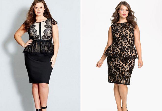 piękne sukienki dla grubych kobiet