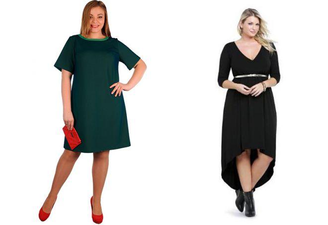 sukienka i sylwetka na pełną