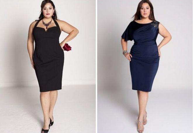 modne sukienki dla otyłych kobiet