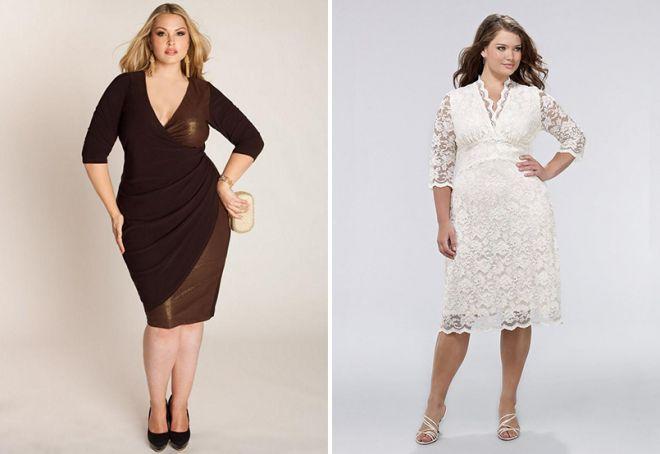 style sukien dla otyłych kobiet