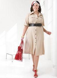 Хаљине за жене старије од 50 година15