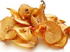 сушено воће из јабуке и крушке у пећници