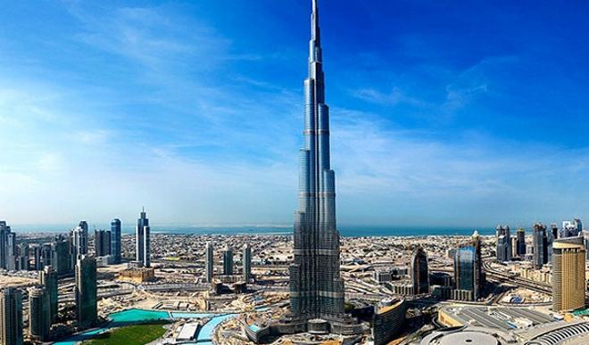Бурдж-Халифа, самый высокий небоскреб в мире