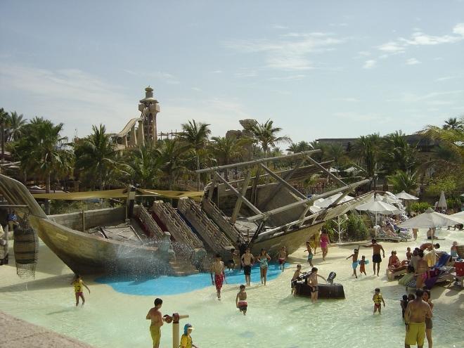 Wild Wadi Waterpark - старейший в городе