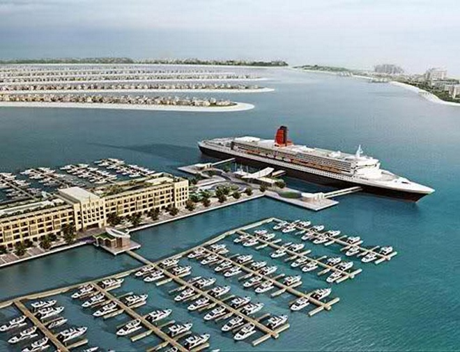 В Дубае 2 морских порта