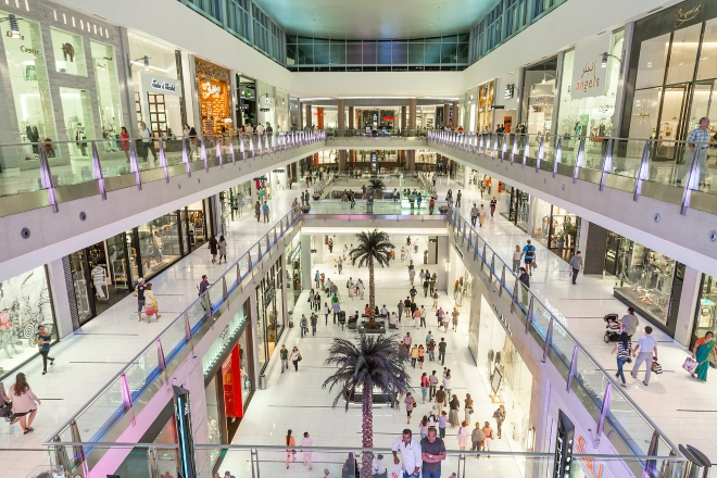 The Dubai Mall, самый большой торговый центр в мире