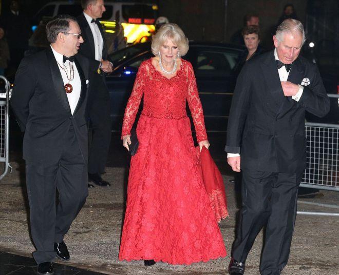 Королевская чета прибыла за 10 минут до начала концерта
