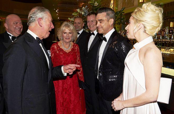 Принц Чарльз пошутил над Робби Уильямсом