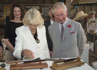 Королевским особам подарили острый нож
