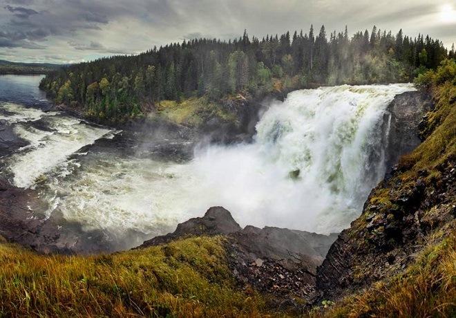 Водопад Таннофорсен