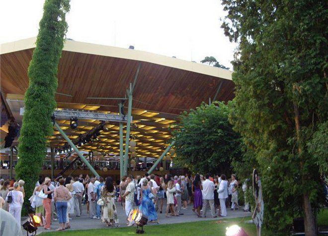 Дзинтари - открытая площадка