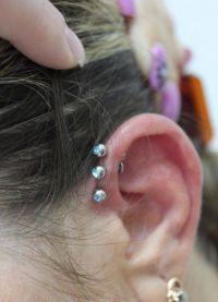 пирсинг на ушима 6