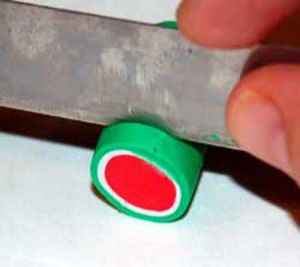 Kolczyki z polimerowej gliny8