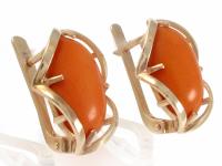 Gold 9 korálových náušnic