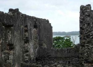 Руины французского форта