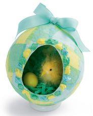 Поделки пасхальное яйцо из бумаги