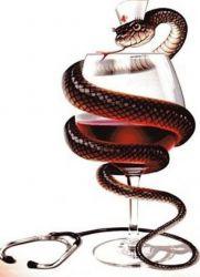 učinek alkohola na tlak