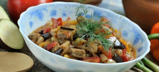 salata za zimu od patlidžana kao gljiva