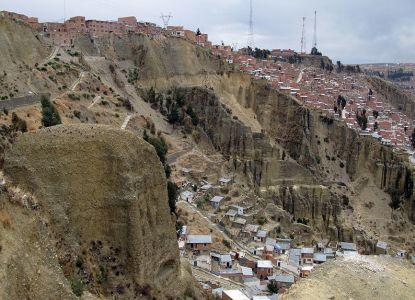 Дома в Эль-Альто на склоне каньона