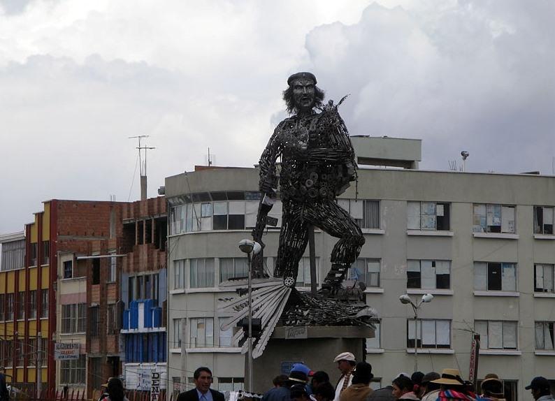 Эксклюзивный памятник Че Геваре
