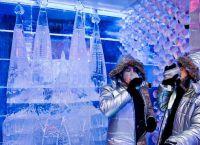 Ледяной бар в музее