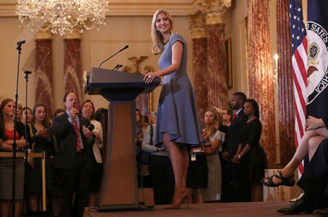 Иванка выступила с речью на заседании Госдепартамента США