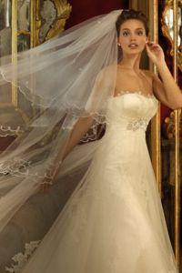 Elegantne poročne obleke 1