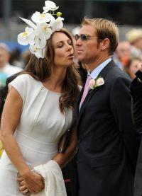 после помолвки Элизабет всегда носила кольцо с сапфиром