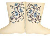 vyšívané plstěné boty1