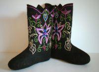 vyšívané plstěné boty4